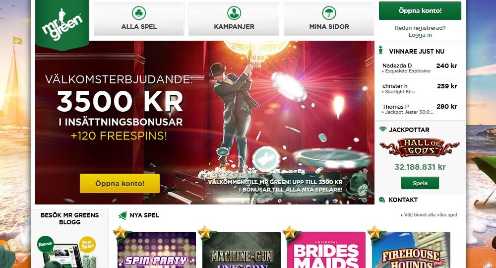 Casino mrgreen.com